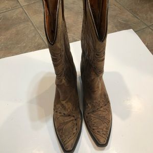 Dan Post Sidewinder Mad Cat Cowgirl Boots Sz 8